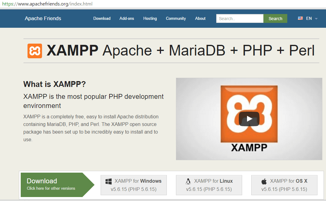 How to Install PHP/ XAMPP