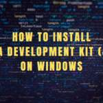 How to install Java Development Kit (JDK) on Windows Banner