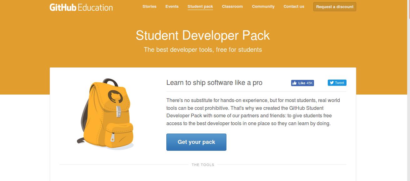 Git Student Pack