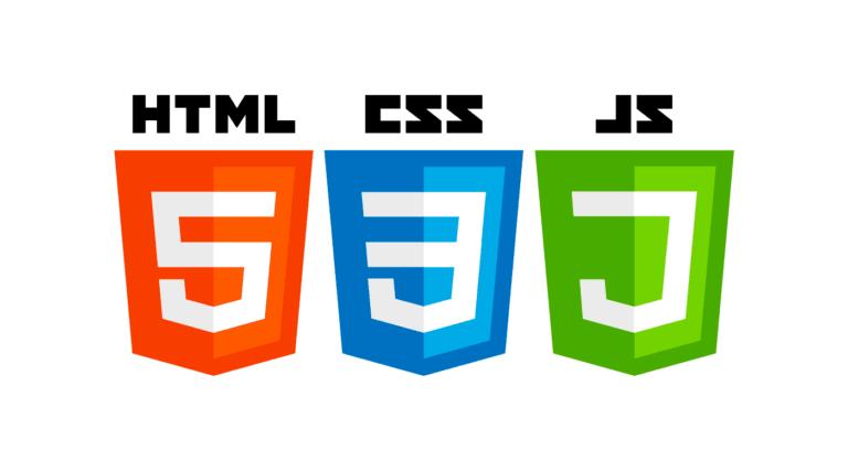 html css js 768x427 - Front End Technologies - 2018
