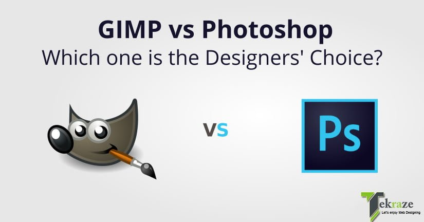 GIMP vs PHOTOSHOP: Which one is the Designers' Choice?