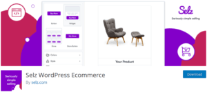 Selz Wordpress Ecommerce 300x134 - Build an eCommerce Store in WordPress using plugins easily