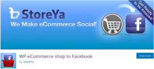 Wp-Ecommerce shop to facebook Tekraze
