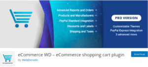 eCommerce WD 300x136 - Build an eCommerce Store in WordPress using plugins easily