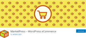 marketpress 300x134 - Build an eCommerce Store in WordPress using plugins easily