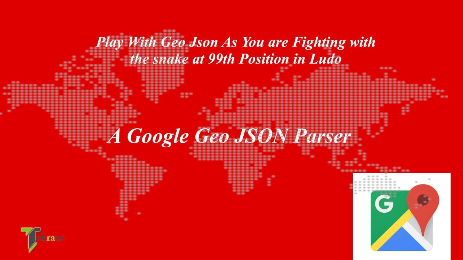 Google Map JSON Parser
