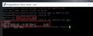 encrypted file tekraze