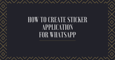 Create Sticker Application for Whatsapp