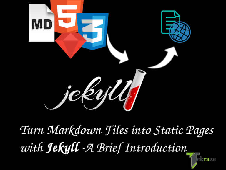 jekyll 1 768x576 - Jekyll - A Beginners Guide to static website