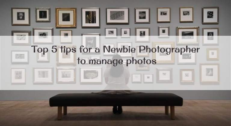 tips for newbie photographer