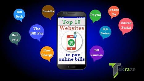 Top 10 Websites to pay electricity bill online