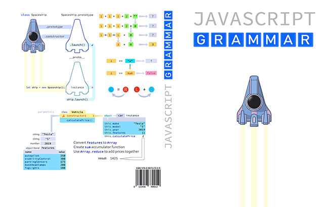 A New Book in the Hood Javascript Grammar by JS Tut