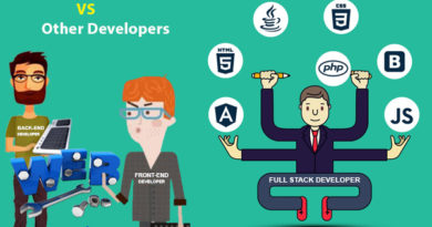 Full Stack Developer Vs Other Developers