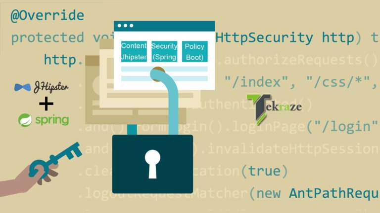 Content Security Policy JHipster Tekraze