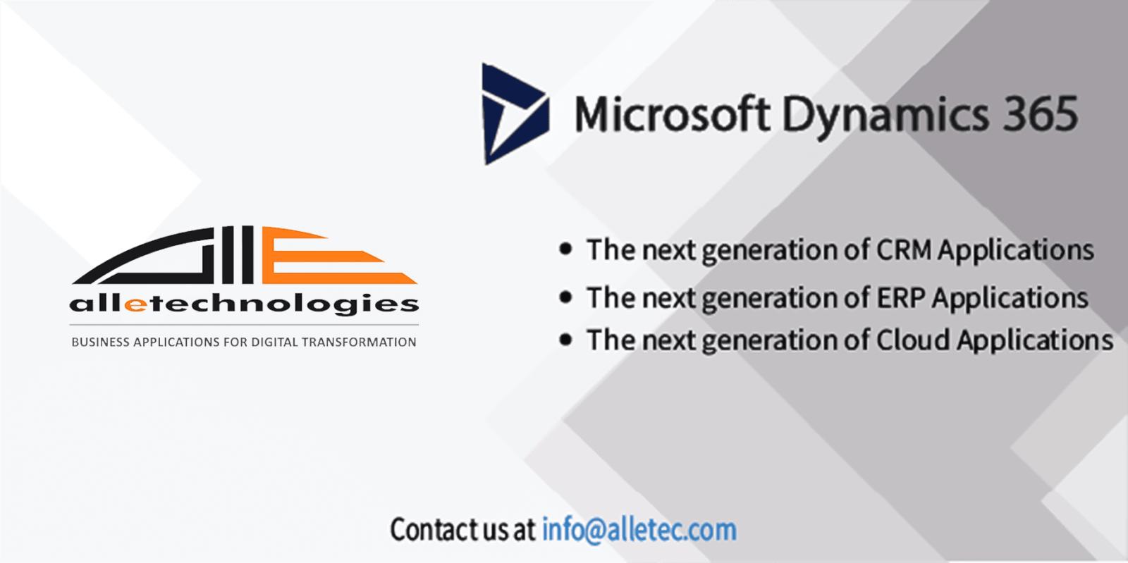 Microsoft Dynamics 365 Info Banner - Microsoft Dynamics 365 Info Banner