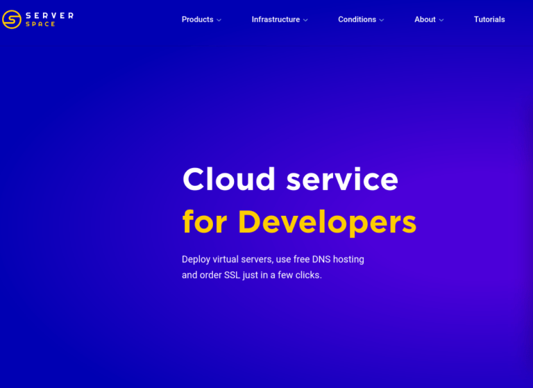 Server Space Cloud VPS Provider Tekraze