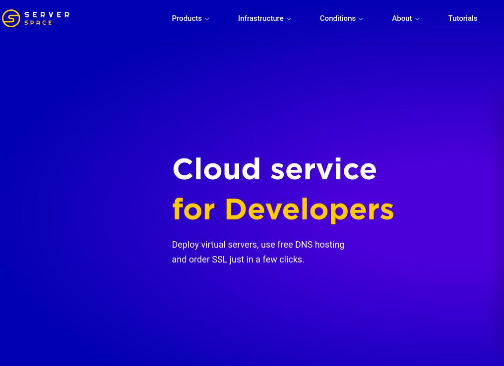 Server Space Cloud VPS Provider Tekraze