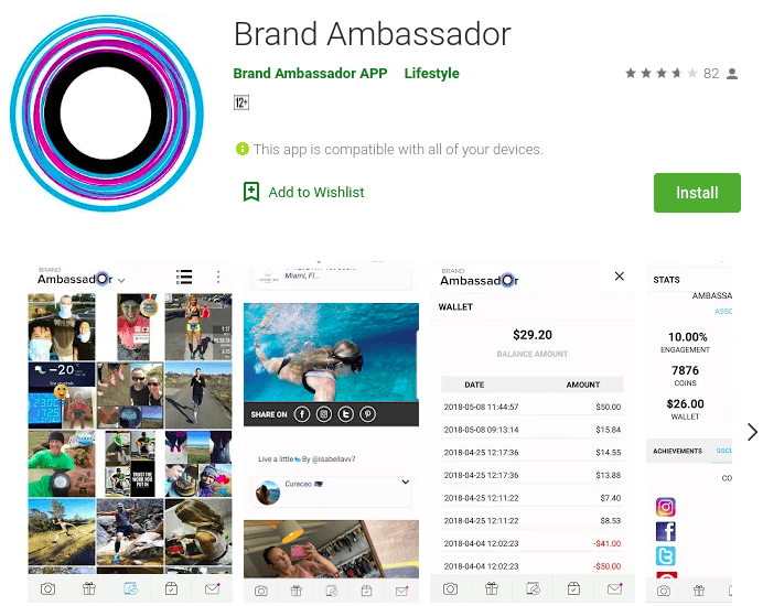 Brand Ambassador - Social Media Influencing apps for mobile to try