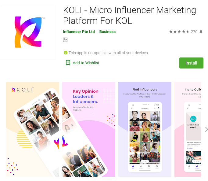 KOLI Micro Influencer Marketing Platform For KOL - KOLI-Micro-Influencer-Marketing-Platform-For-KOL