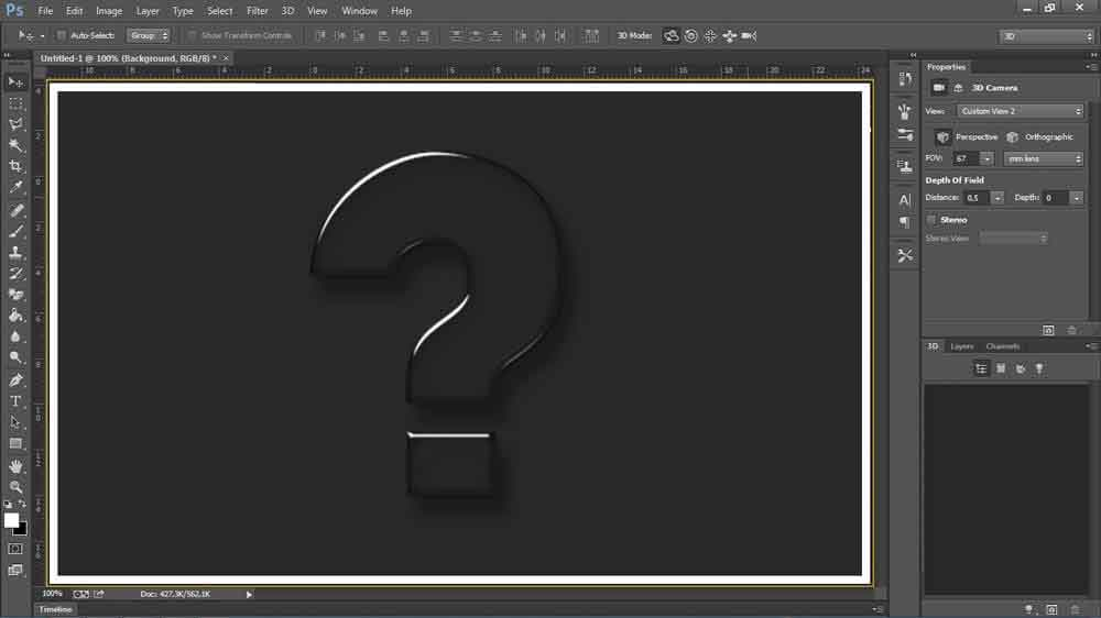 TEK - How to add 3D option in Adobe Photoshop CS6?